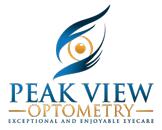Peak View Optometry Logo